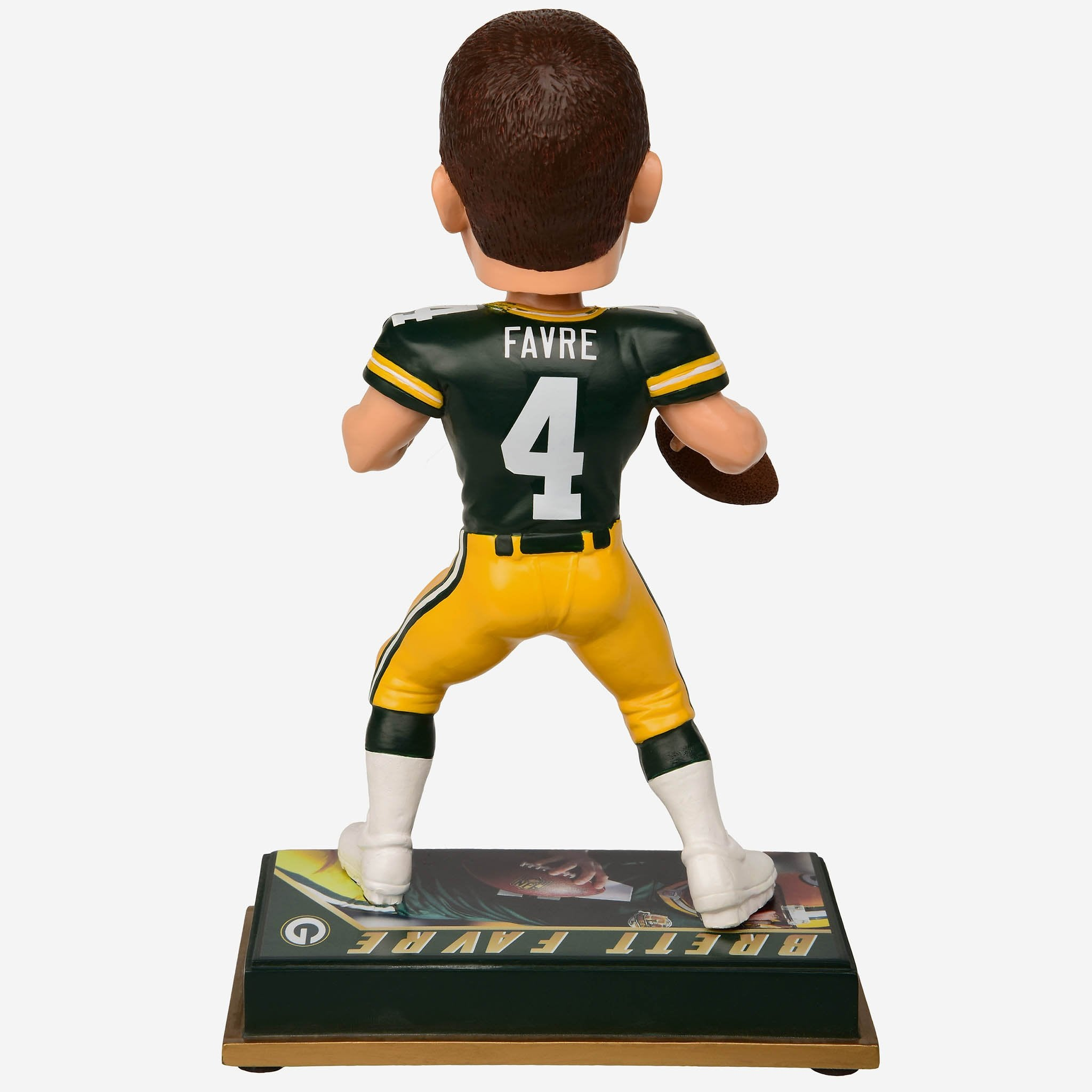 Brett Favre Green Bay Packers Retired Bobblehead