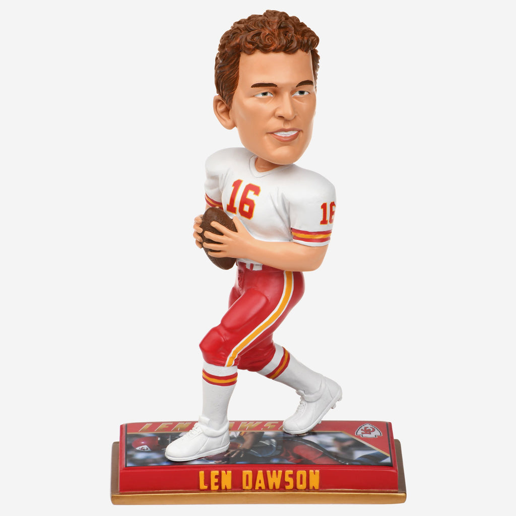Len Dawson Kansas City Chiefs Retired Bobblehead FOCO - FOCO.com