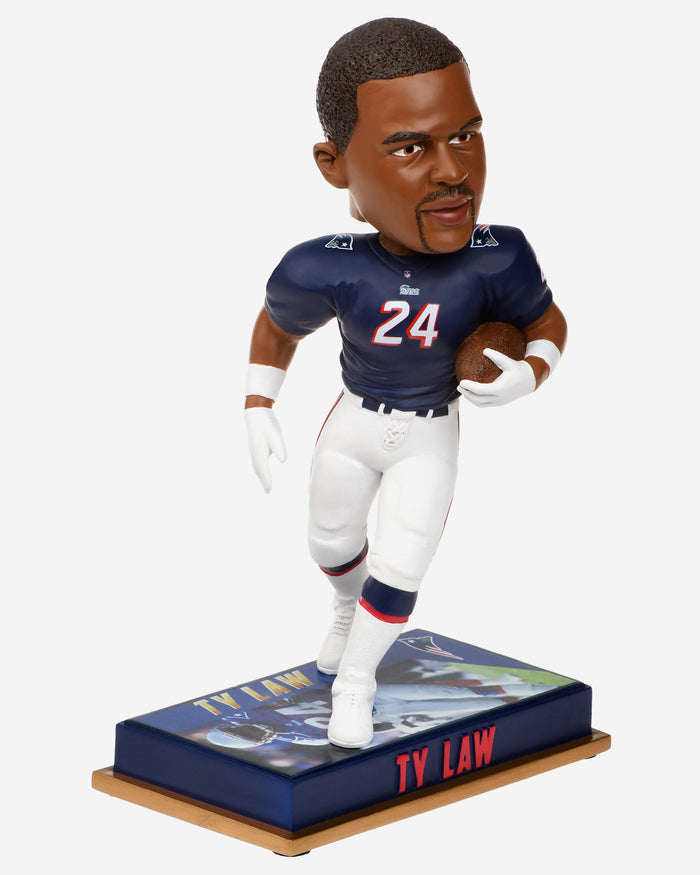 Ty Law New England Patriots Retired Bobblehead FOCO - FOCO.com