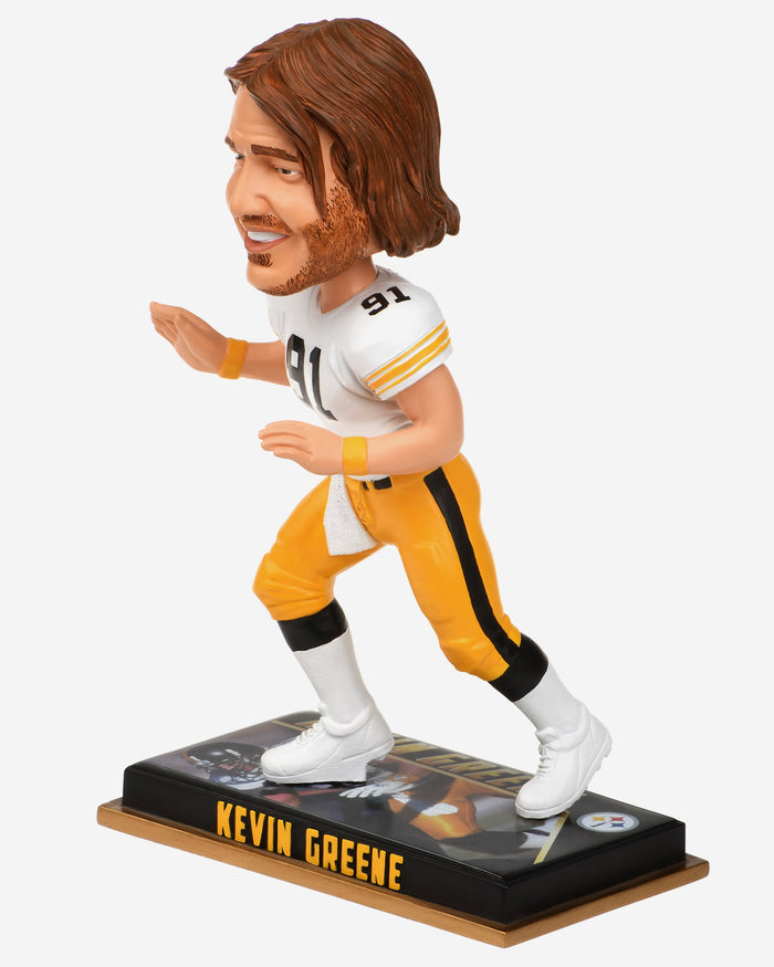 Kevin Greene Pittsburgh Steelers Retired Bobblehead FOCO - FOCO.com