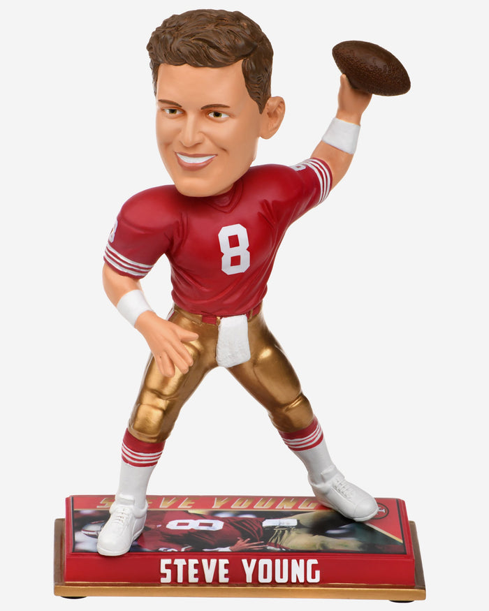 Steve Young San Francisco 49ers Retired Bobblehead FOCO - FOCO.com