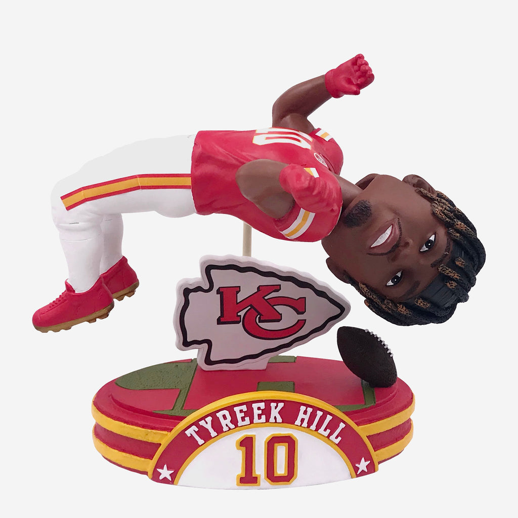 Tyreek Hill Kansas City Chiefs Backflip Bobblehead FOCO - FOCO.com