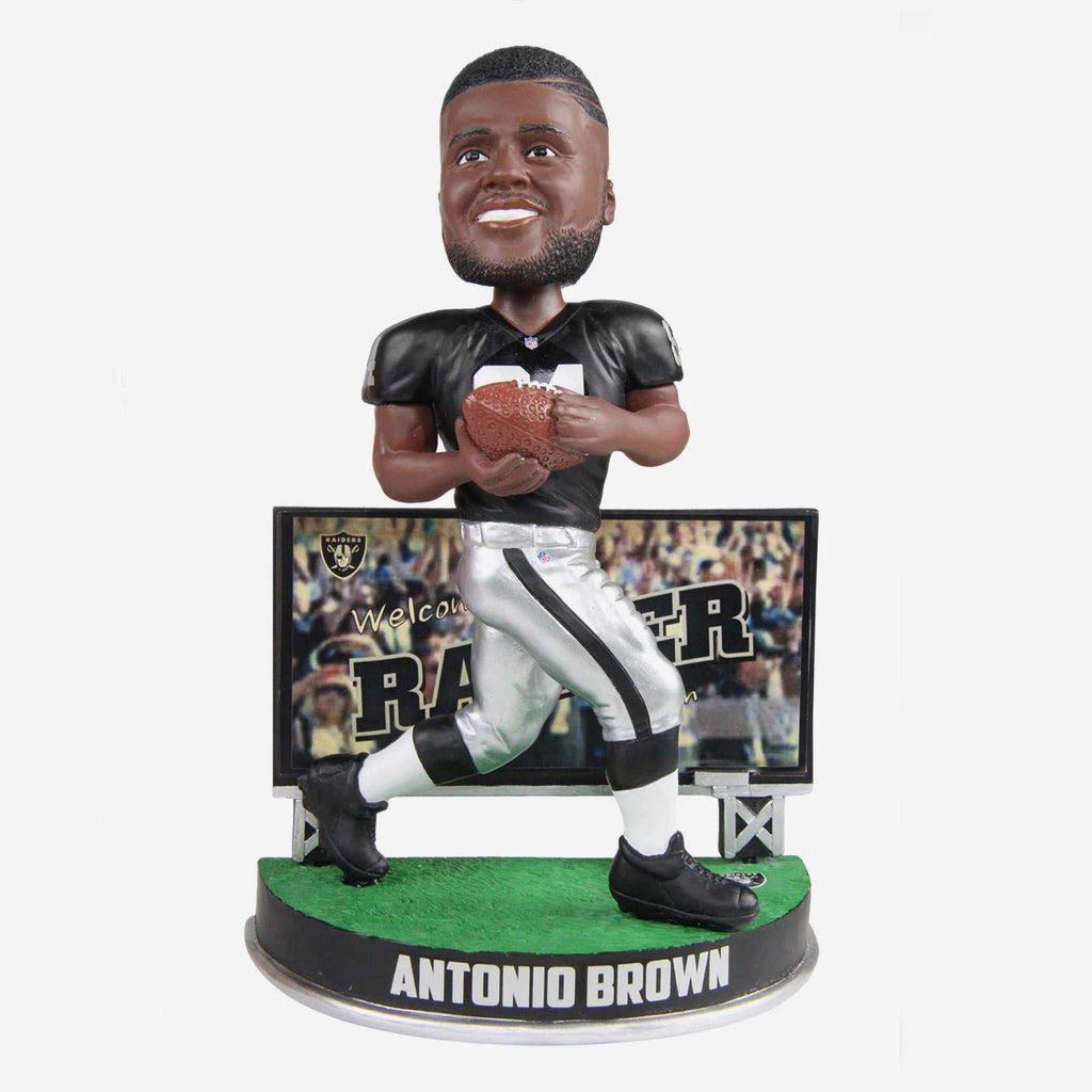Antonio Brown Las Vegas Raiders Billboard Bobblehead FOCO - FOCO.com