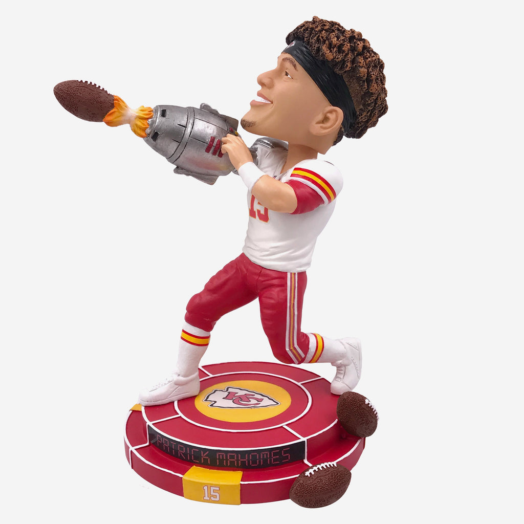 Patrick Mahomes Kansas City Chiefs Cannon Arm Bobblehead