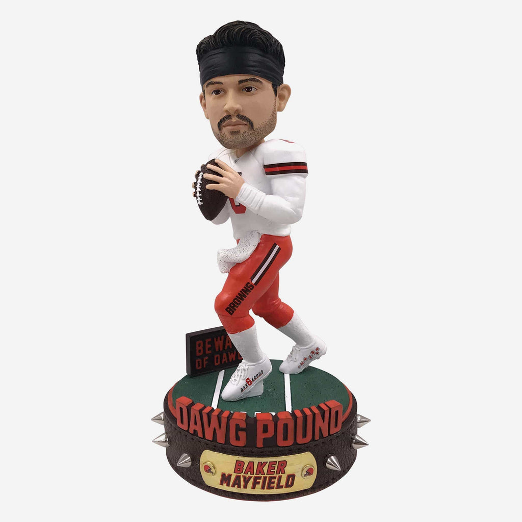 Baker Mayfield Cleveland Browns Dawg Pound Series Bobblehead FOCO - FOCO.com