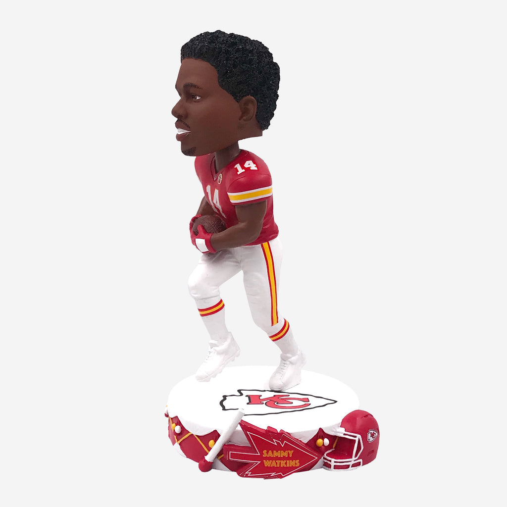 Sammy Watkins Kansas City Chiefs Drum Base Bobblehead FOCO - FOCO.com