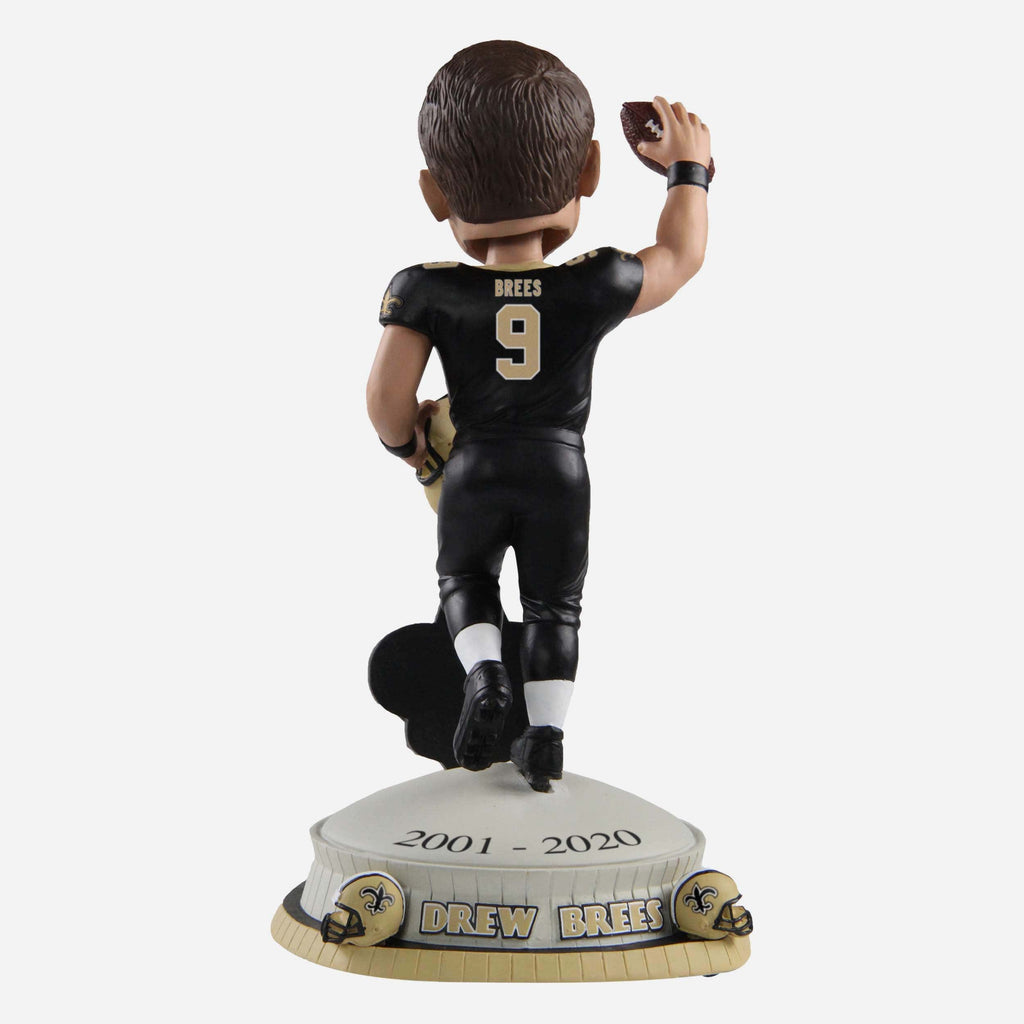 Drew Brees New Orleans Saints Farewell Bobblehead FOCO - FOCO.com