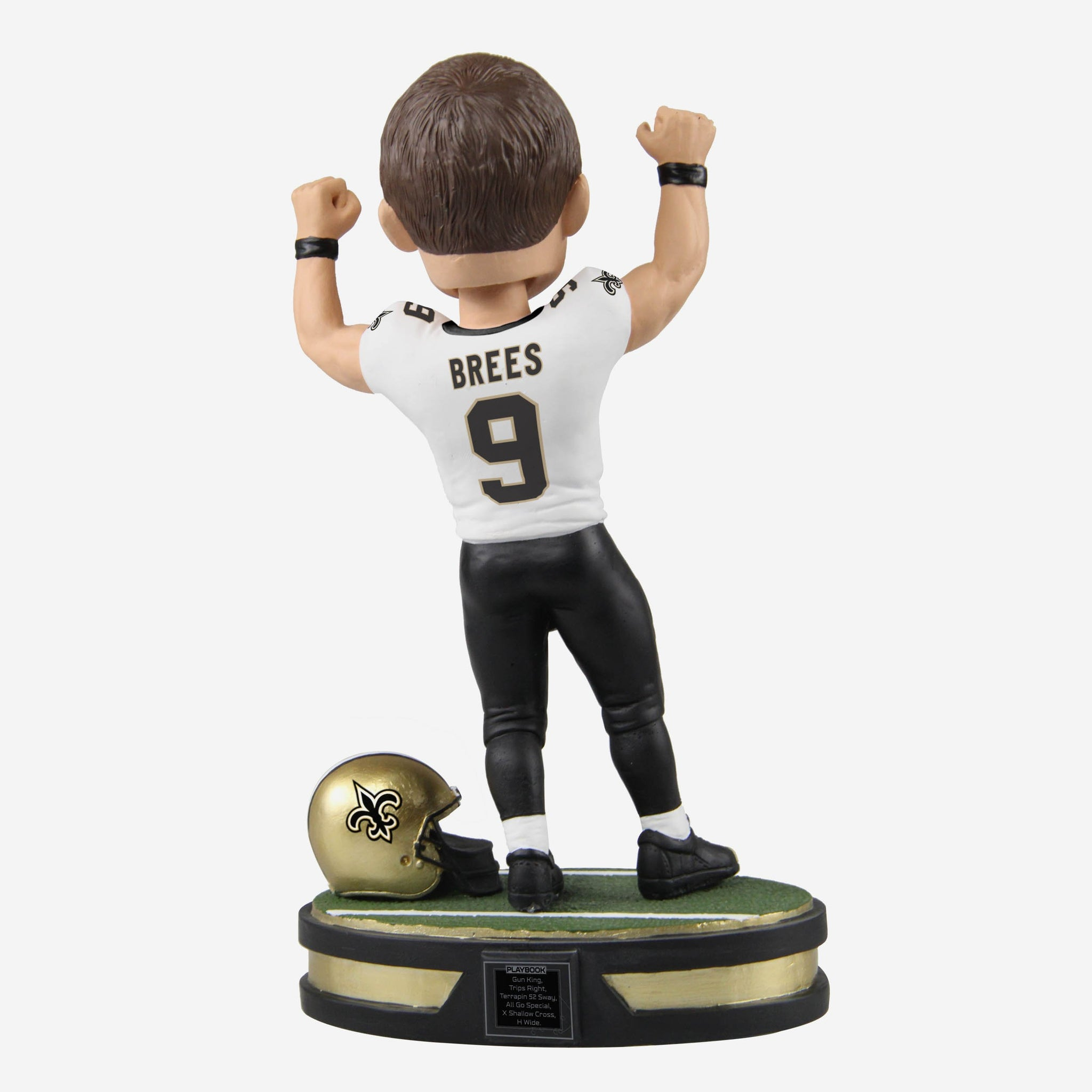 Drew Brees New Orleans Saints All-Time Passing Yards Record Bobblehead FOCO - FOCO.com