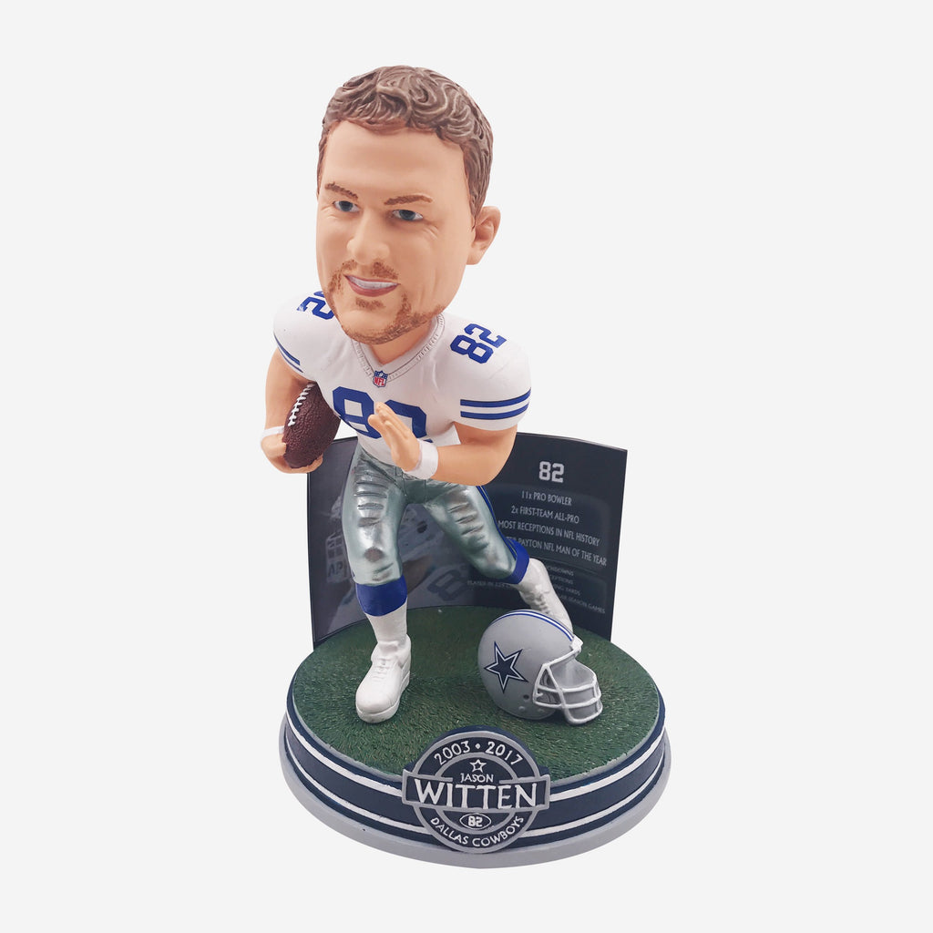 Jason Witten Dallas Cowboys Retired Bobblehead