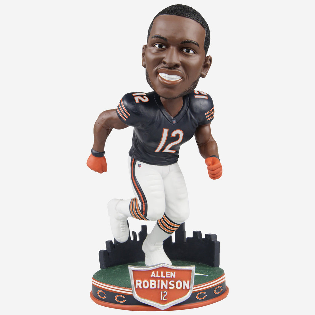 Allen Robinson Chicago Bears City Skyline Bobblehead FOCO - FOCO.com
