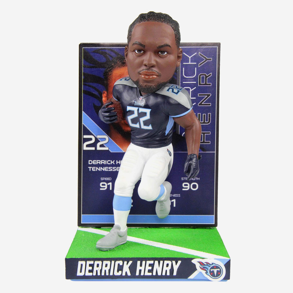 Derrick Henry Tennessee Titans Ratings Card Bobblehead FOCO - FOCO.com