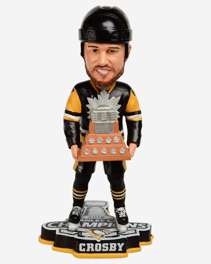 Sidney Crosby Pittsburgh Penguins 2016 Stanley Cup Champions MVP Bobblehead FOCO - FOCO.com