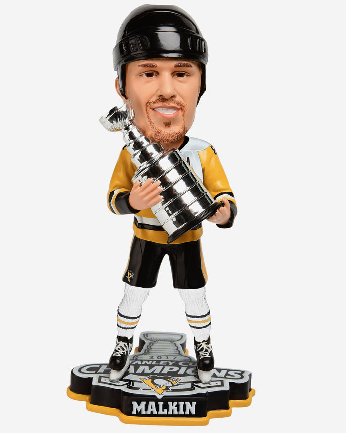 Evgeni Malkin Pittsburgh Penguins 2017 Stanley Cup Champions Bobblehead FOCO - FOCO.com