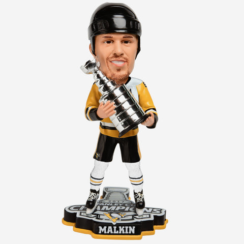Evgeni Malkin Pittsburgh Penguins 2017 Stanley Cup Champions Bobblehead