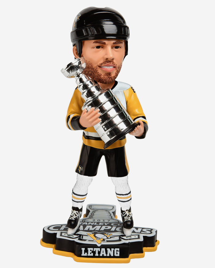 Kris Letang Pittsburgh Penguins 2017 Stanley Cup Champions Bobblehead FOCO - FOCO.com