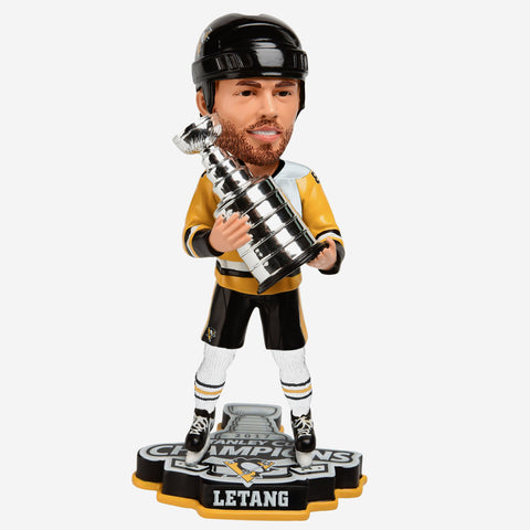 Kris Letang Pittsburgh Penguins 2017 Stanley Cup Champions Bobblehead
