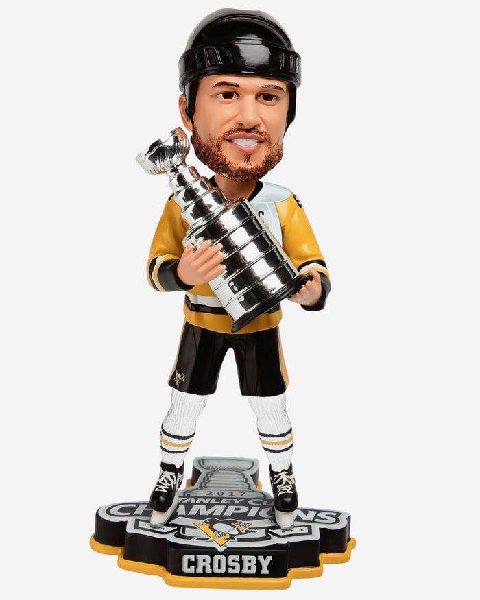 Sidney Crosby Pittsburgh Penguins 2017 Stanley Cup Champions Bobblehead FOCO - FOCO.com