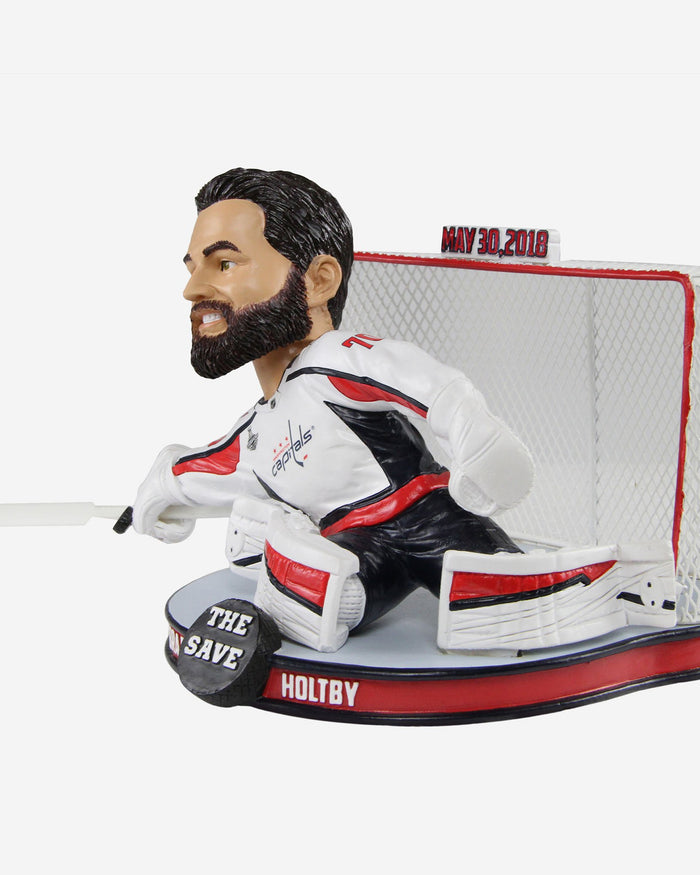 Braden Holtby Washington Capitals The Save Bobblehead FOCO - FOCO.com