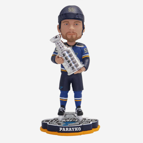 Colton Parayko St Louis Blues 2019 Stanley Cup Champions Bobblehead