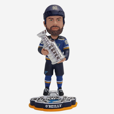 Ryan O'Reilly St Louis Blues 2019 Stanley Cup Champions Bobblehead
