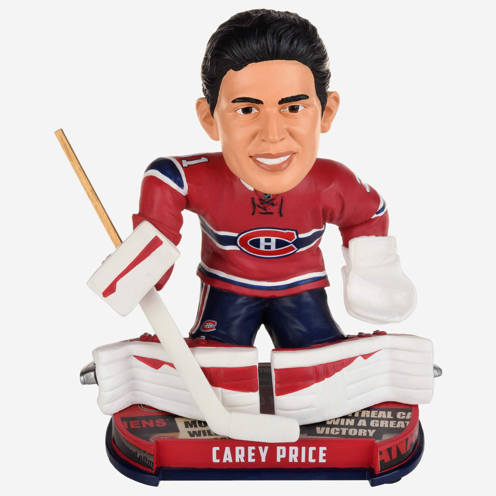 Carey Price Montreal Canadiens Headline Bobblehead FOCO - FOCO.com