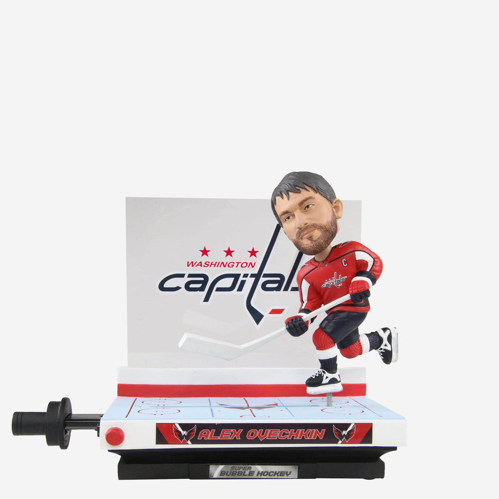 Alexander Ovechkin Washington Capitals Bubble Series Bobblehead FOCO - FOCO.com