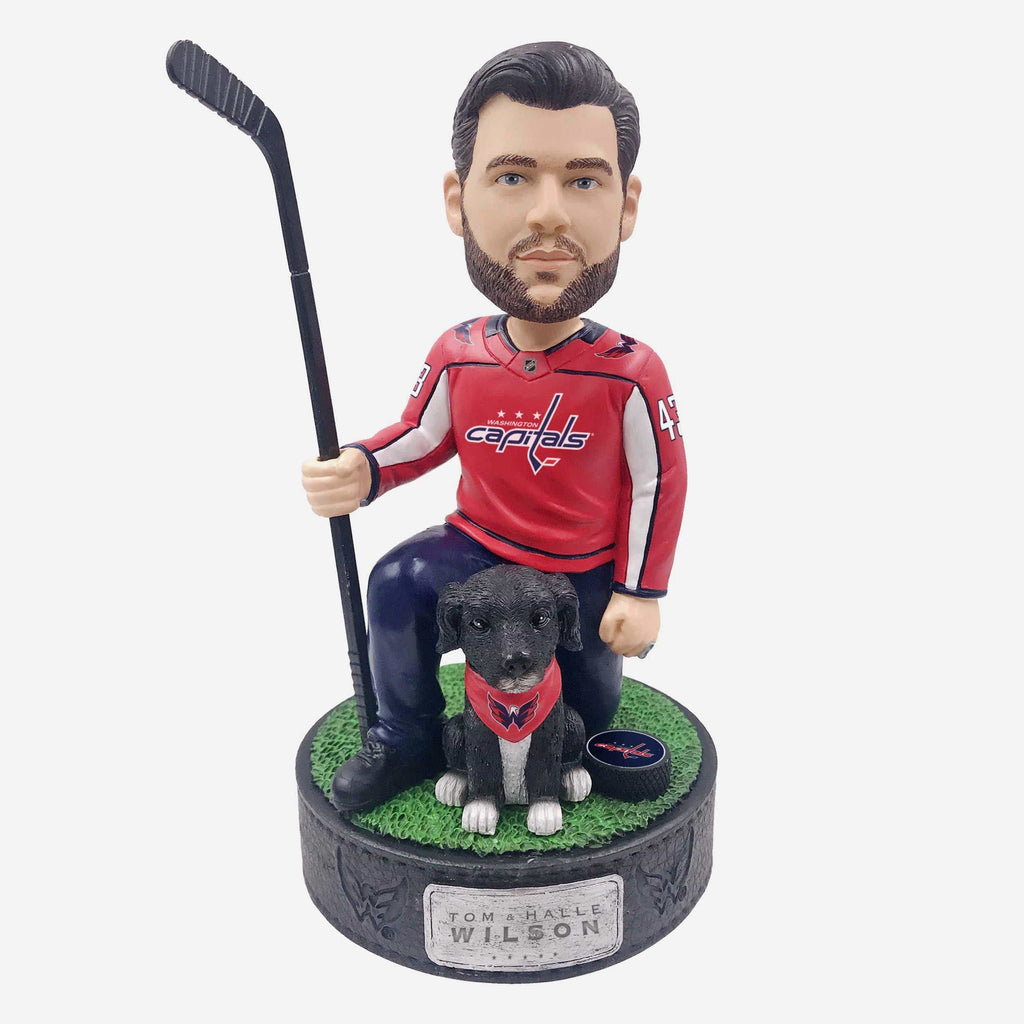 Tom Wilson Washington Capitals Rescue Dog Bobblehead FOCO - FOCO.com