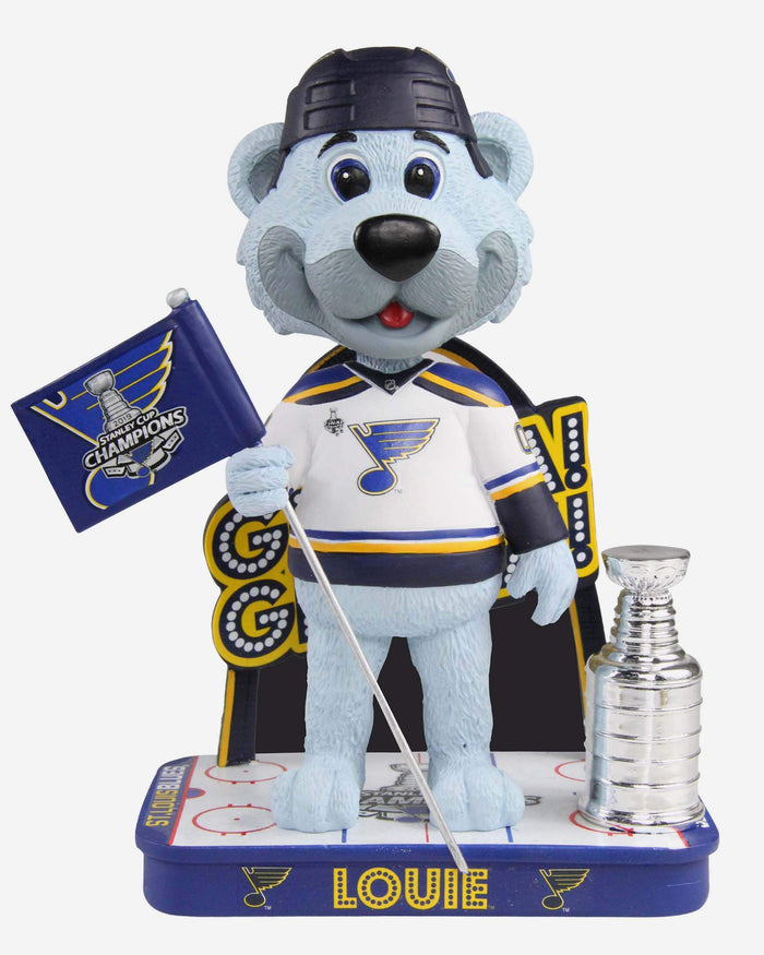Louie St Louis Blues Gloria Gloria Bobblehead FOCO - FOCO.com