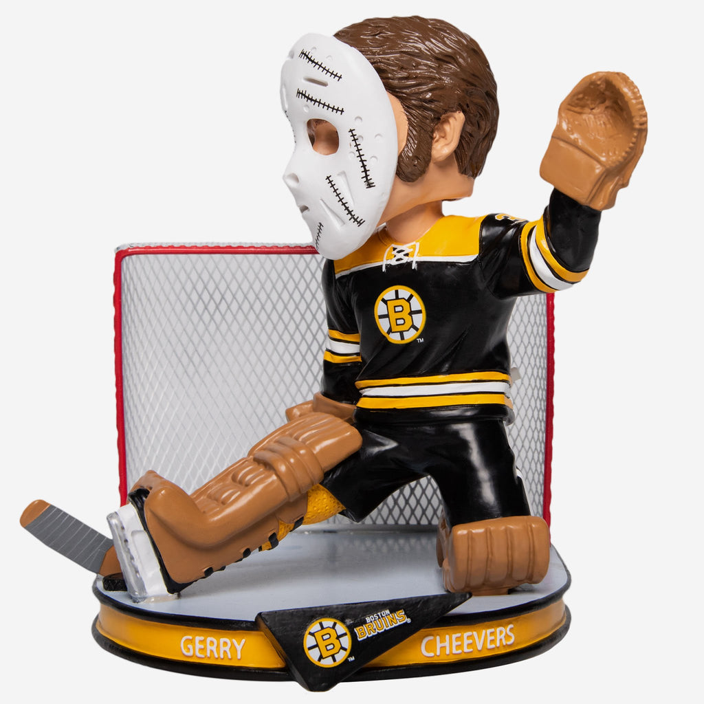 Gary Cheevers Boston Bruins Retro Alumni Bobblehead FOCO - FOCO.com