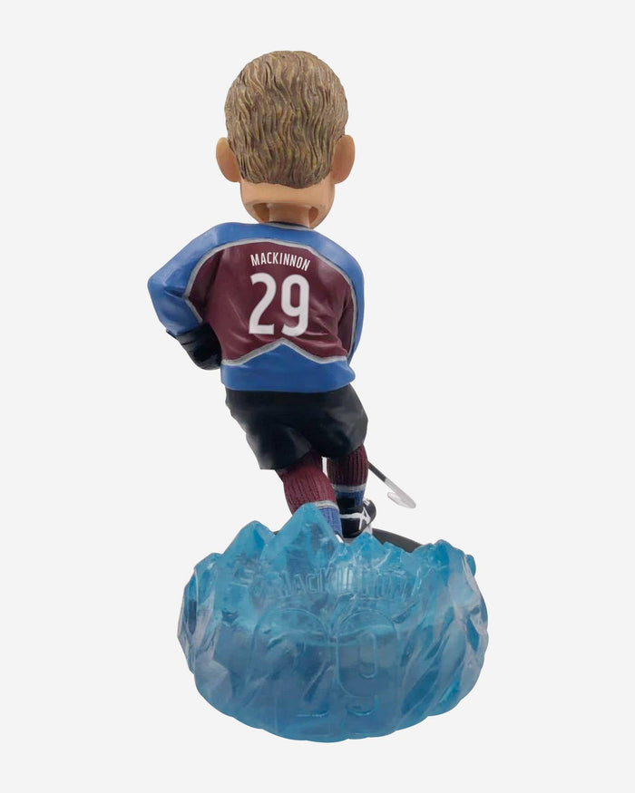 Nathan MacKinnon Colorado Avalanche Thematic Bobblehead FOCO - FOCO.com