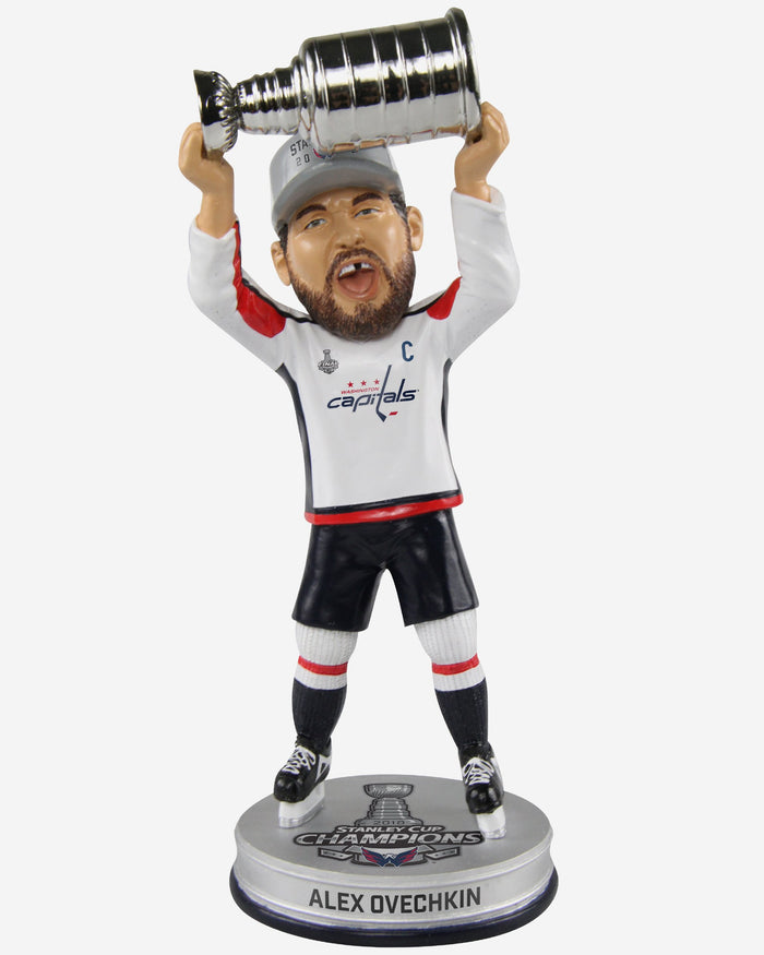 Alex Ovechkin Washington Capitals Trophy Celebration Bobblehead FOCO - FOCO.com
