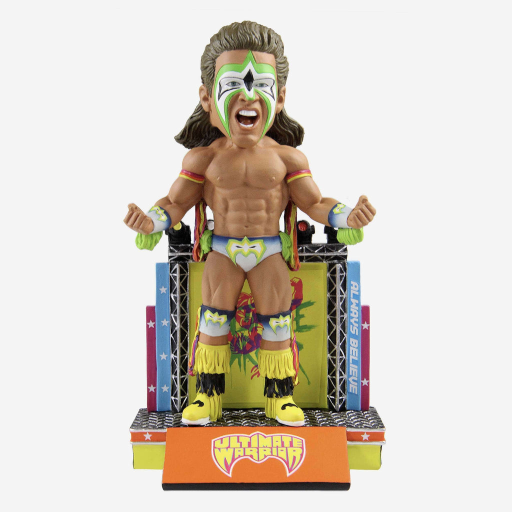 Ultimate Warrior WWE Bobblehead FOCO - FOCO.com