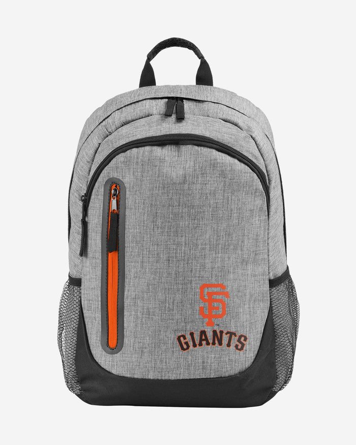 San Francisco Giants Heather Grey Bold Color Backpack FOCO - FOCO.com