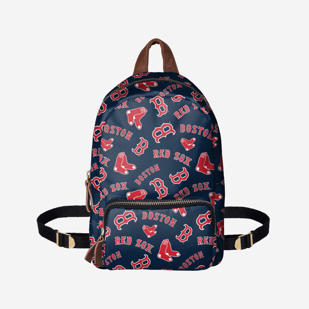 Boston Red Sox Printed Collection Mini Backpack