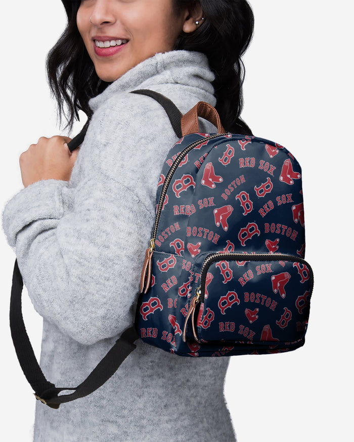 Boston Red Sox Printed Collection Mini Backpack FOCO - FOCO.com