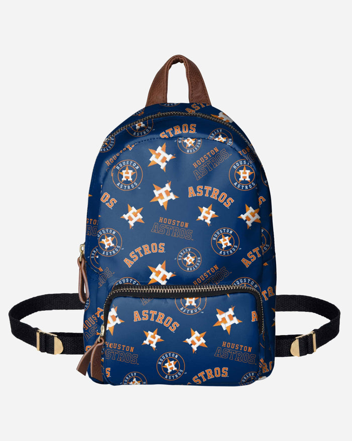 Houston Astros Printed Collection Mini Backpack FOCO - FOCO.com