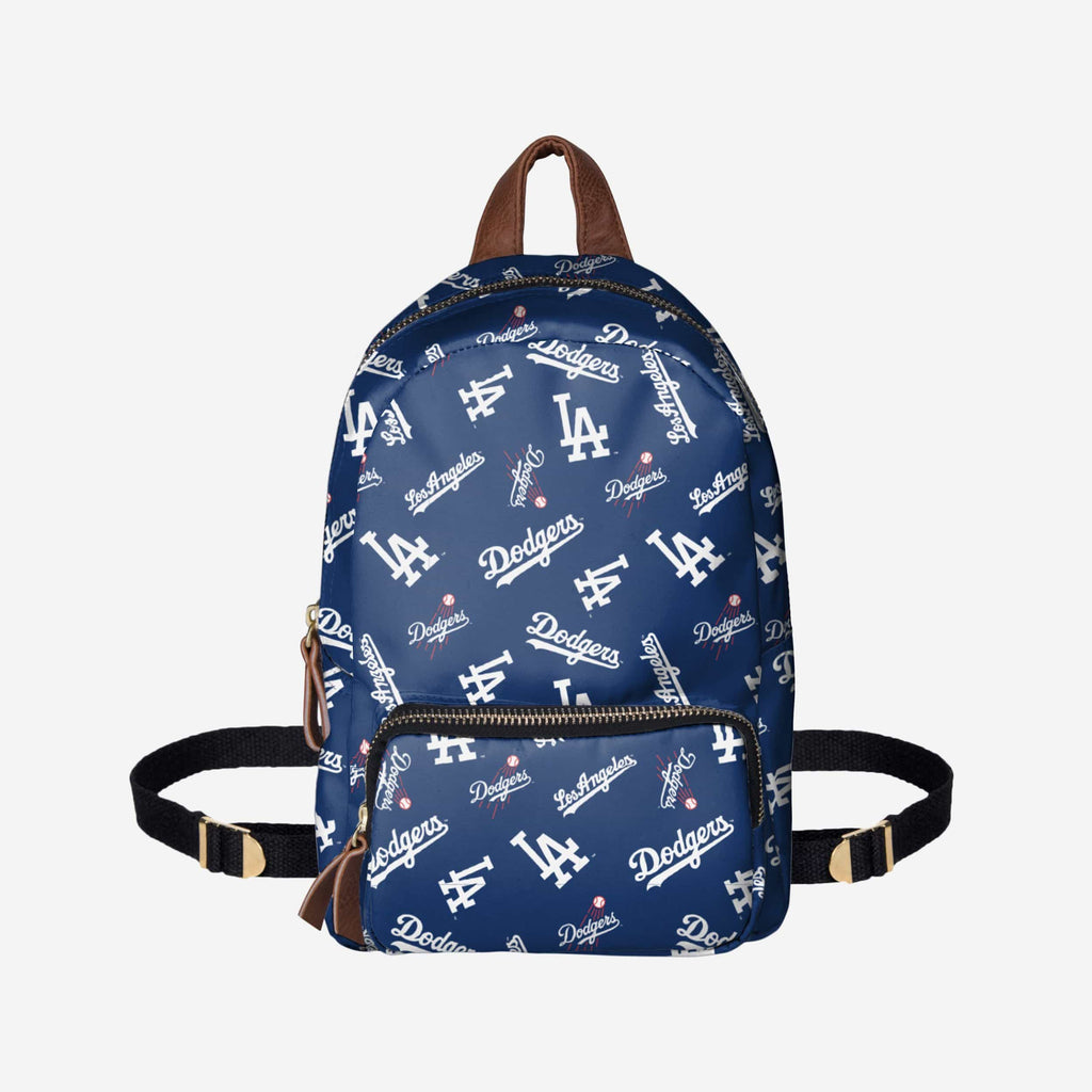 Los Angeles Dodgers Printed Collection Mini Backpack