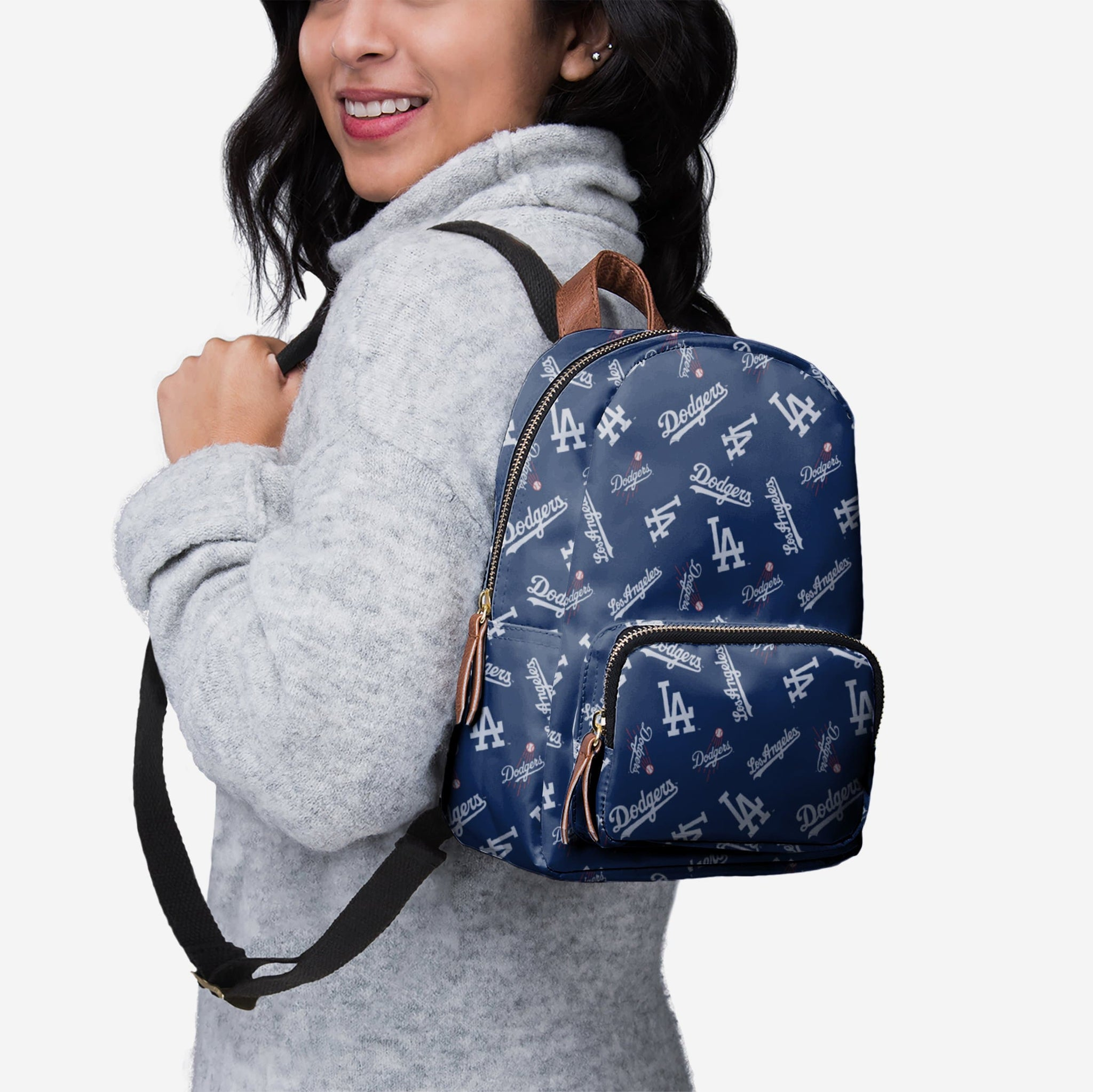 Los Angeles Dodgers Printed Collection Mini Backpack FOCO - FOCO.com