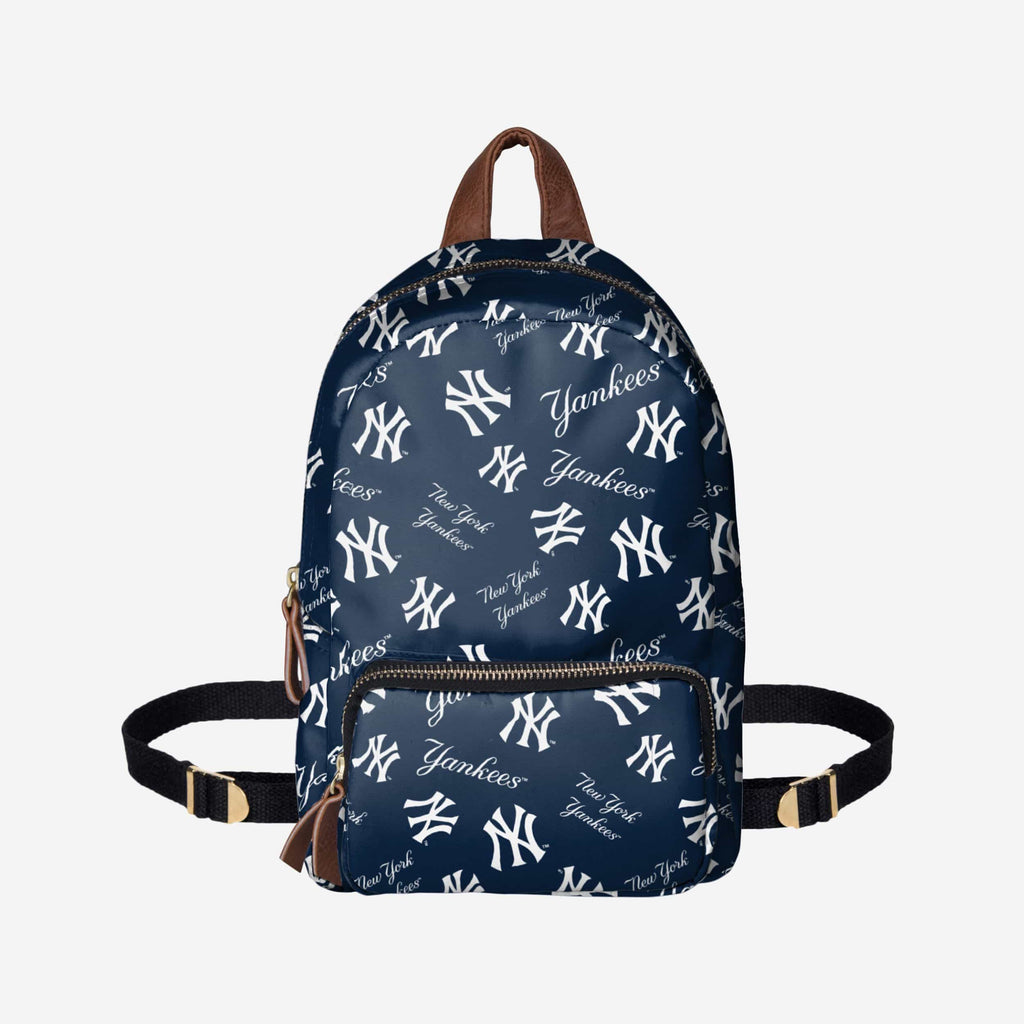New York Yankees Printed Collection Mini Backpack FOCO - FOCO.com