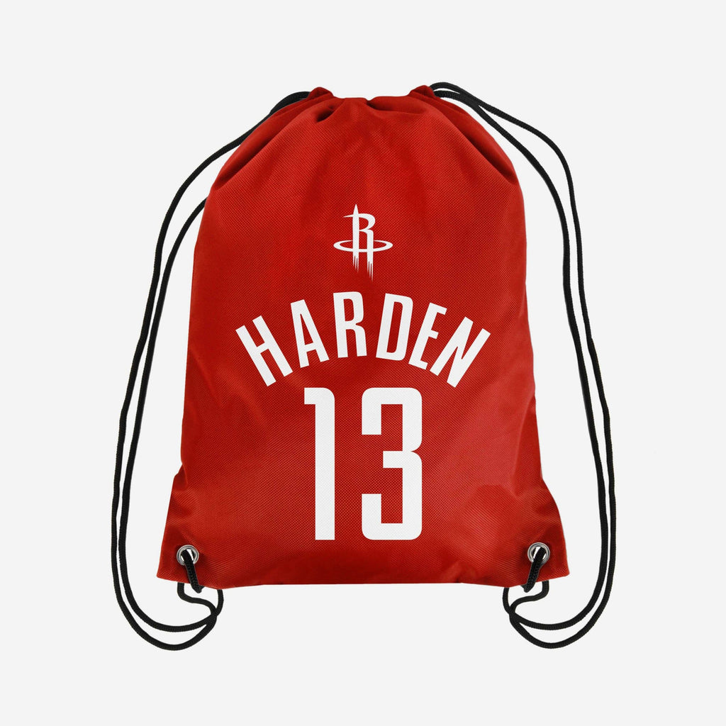 James Harden Houston Rockets Player Drawstring Backpack