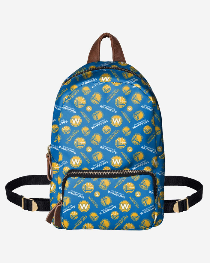 Golden State Warriors Printed Collection Mini Backpack FOCO - FOCO.com