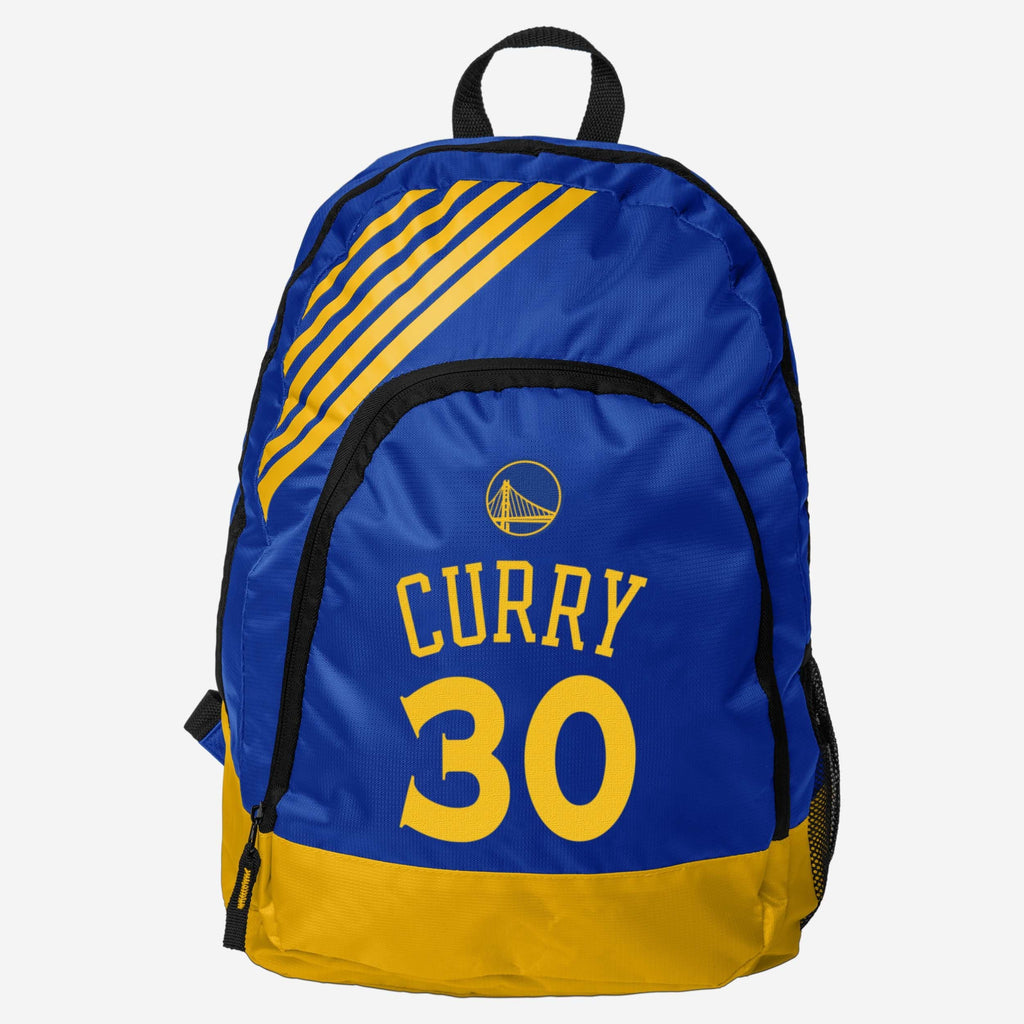 Steph Curry Golden State Warriors Border Stripe Backpack FOCO - FOCO.com