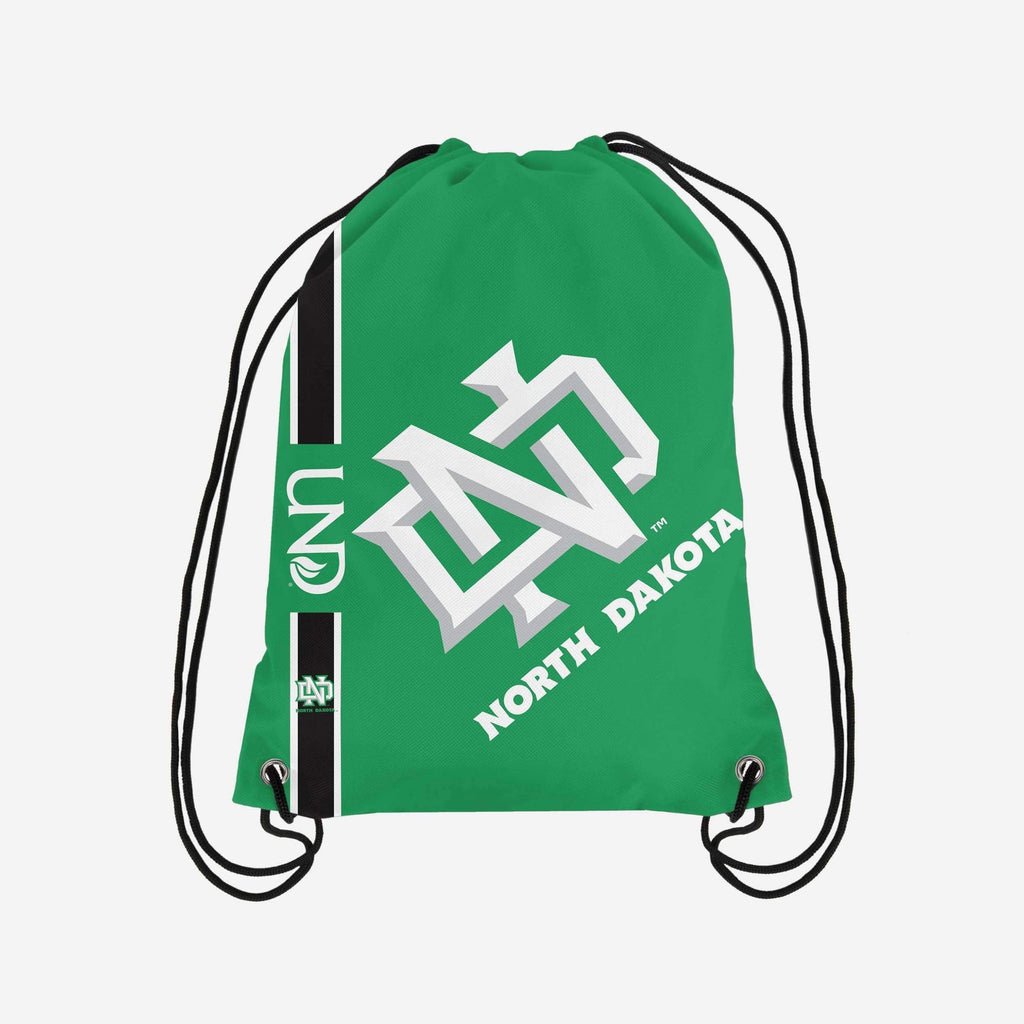 North Dakota Fighting Hawks Big Logo Drawstring Backpack FOCO - FOCO.com