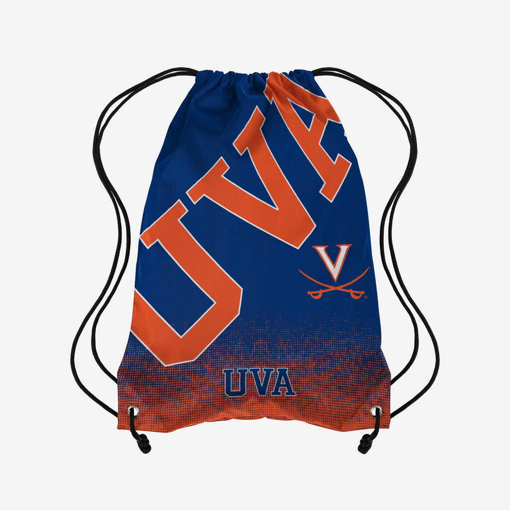 Virginia Cavaliers Gradient Drawstring Backpack