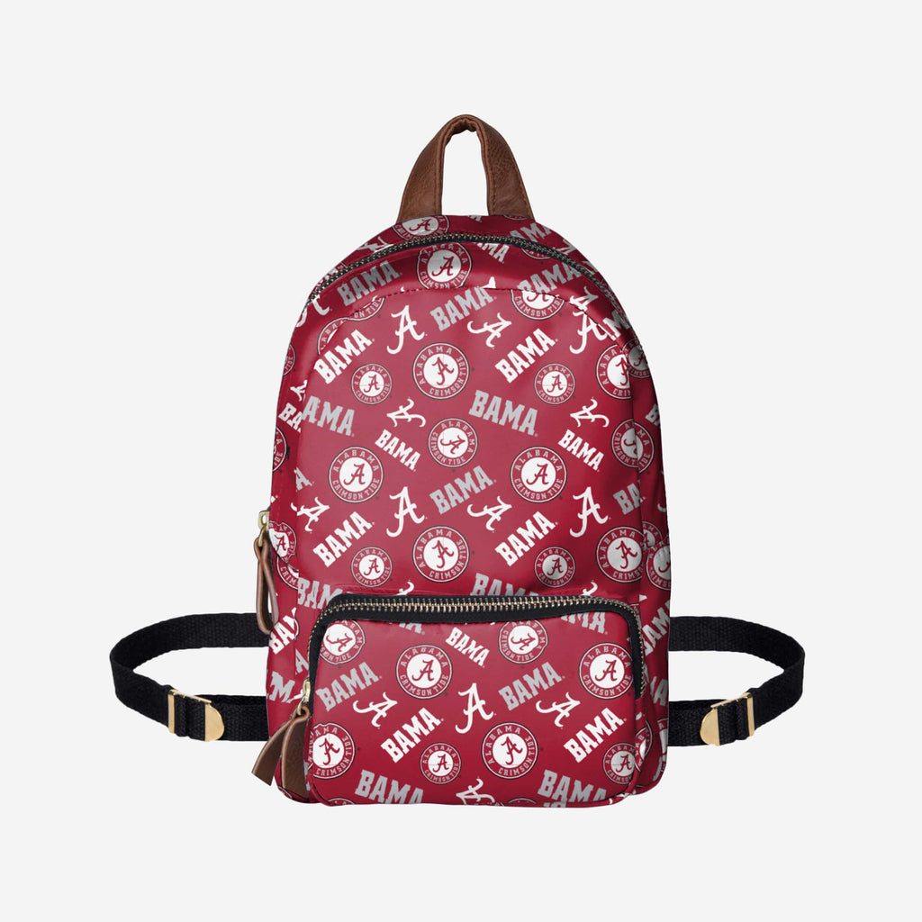 Alabama Crimson Tide Printed Collection Mini Backpack