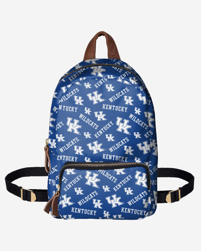 Kentucky Wildcats Printed Collection Mini Backpack FOCO - FOCO.com