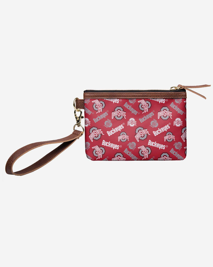 Ohio State Buckeyes Printed Collection Repeat Logo Wristlet FOCO - FOCO.com