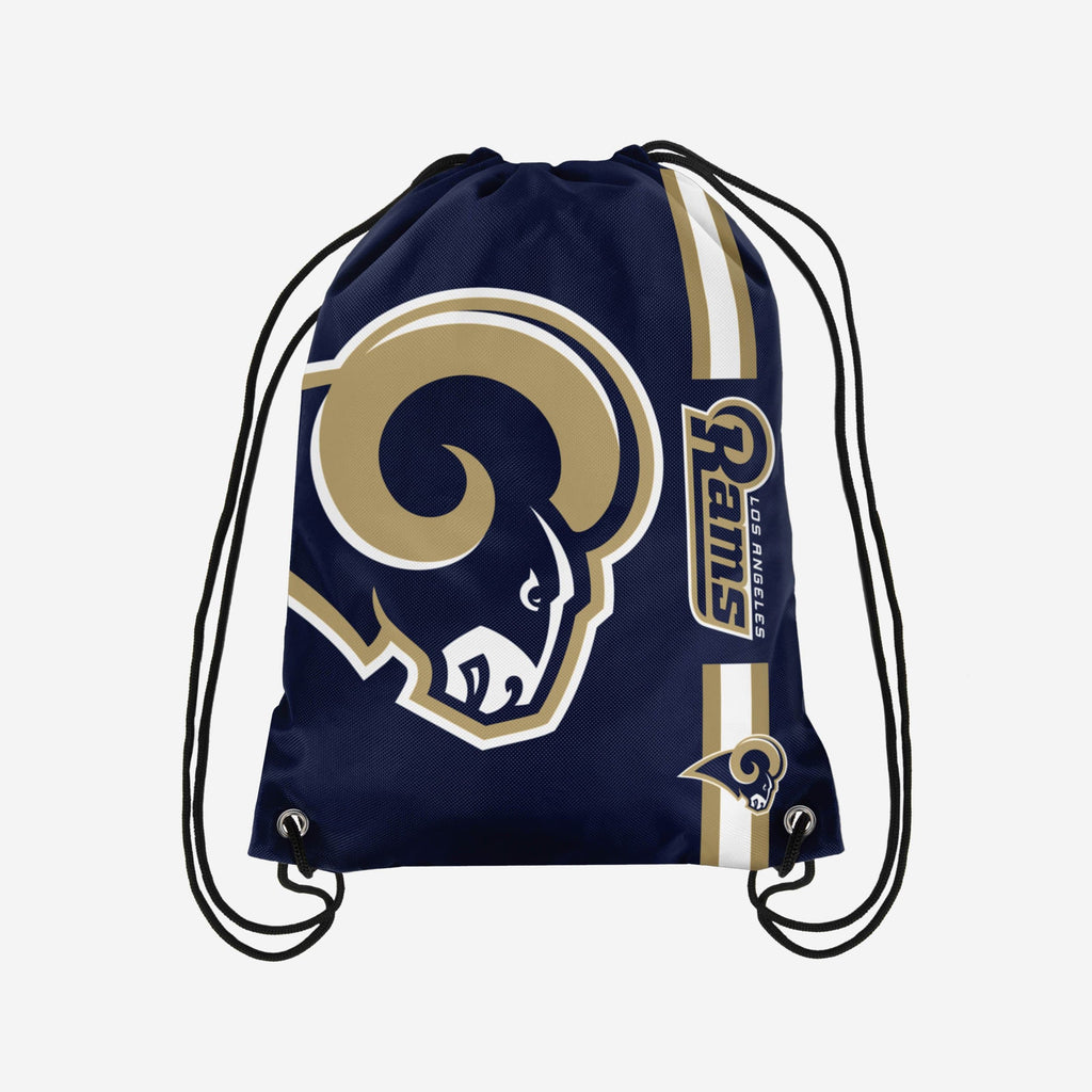 Los Angeles Rams Retro Big Logo Drawstring Backpack FOCO - FOCO.com