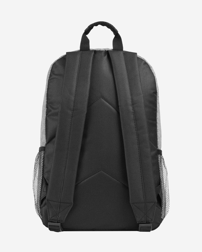 Chicago Bears Heather Grey Bold Color Backpack FOCO - FOCO.com