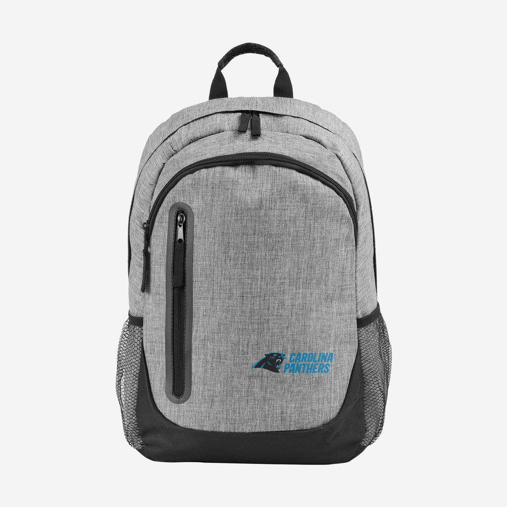 Carolina Panthers Heather Grey Bold Color Backpack FOCO - FOCO.com